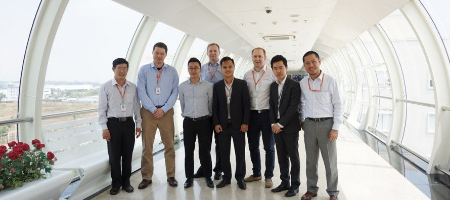 FPT Software welcomed RWE Czech to F-Town campus in Ho Chi Minh city, Vietnam