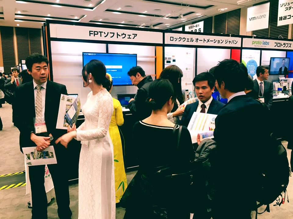 FPT Software presents at IoT Japan Exhibition 2017