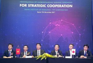 FPT Corporation and Daiwa Institute of Research cooperates in researching and developing Frontier Technology
