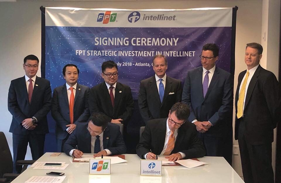 "FPT and Intellinet join forces to deliver ""one-stop"" Digital Transformation services globally"