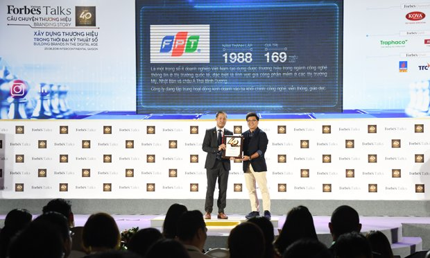 FPT among 10 most valuable brands in Vietnam