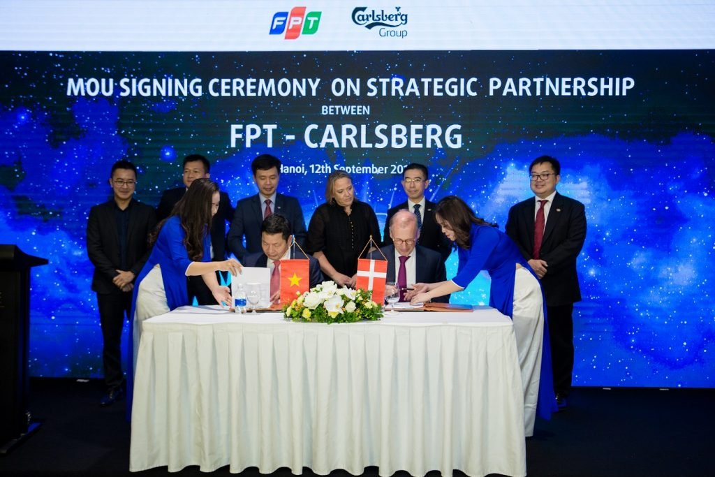FPT becomes Carlsberg's Technology Partner on a global scale