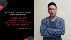 FPT to have the 101st Project Manager to acquire PMP Certificate