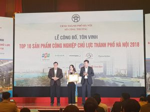 FPT Software's Digital Transformation service placed in Top 10 Key Industrial Products of Hanoi 2018