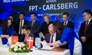 FPT Software successfully implements the first Smart Factory project for Carlsberg