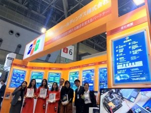 FPT showcased our top Automotive expertise in Japan Automotive World 2019