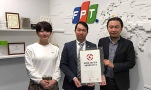NTT Docomo shares the Good Design Award 2018 with FPT