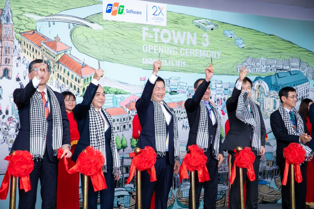 FPT Software Launches its Largest Campus in Vietnam, Expecting 30,000 Talents by 2020