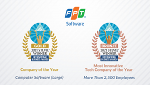 FPT Software Earns Double Wins at 2021 International Business Awards®